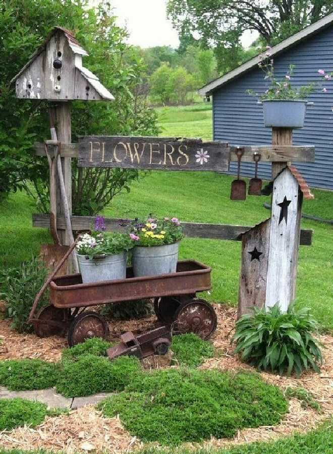 30 Simple And Rustic Diy Ideas For Your Backyard And Garden Gardenholic