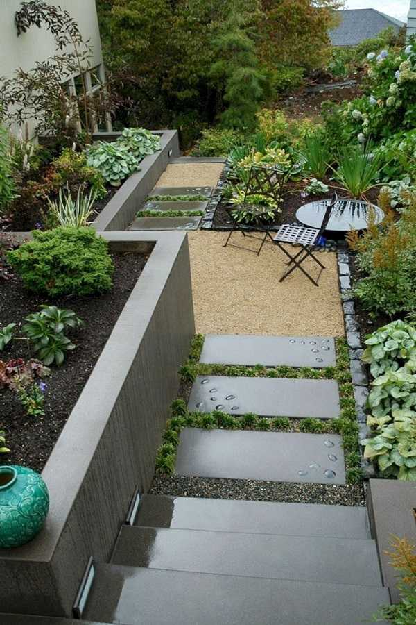 30 Collection of Backyard Landscaping Layout Design Ideas on Backyard Design Layout id=33567