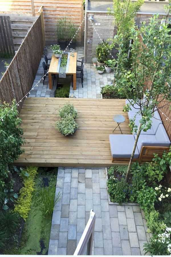 30 Amazing Small Backyard Landscaping Ideas That Will ... on Small Outdoor Patio Ideas id=88680