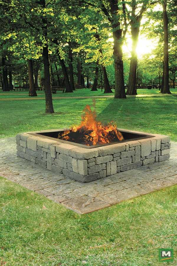 DIY Fire Pit Ideas13