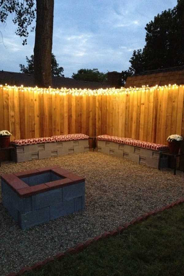 DIY Fire Pit Ideas26