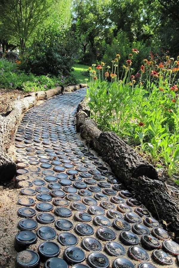 Cheap walkway ideas21