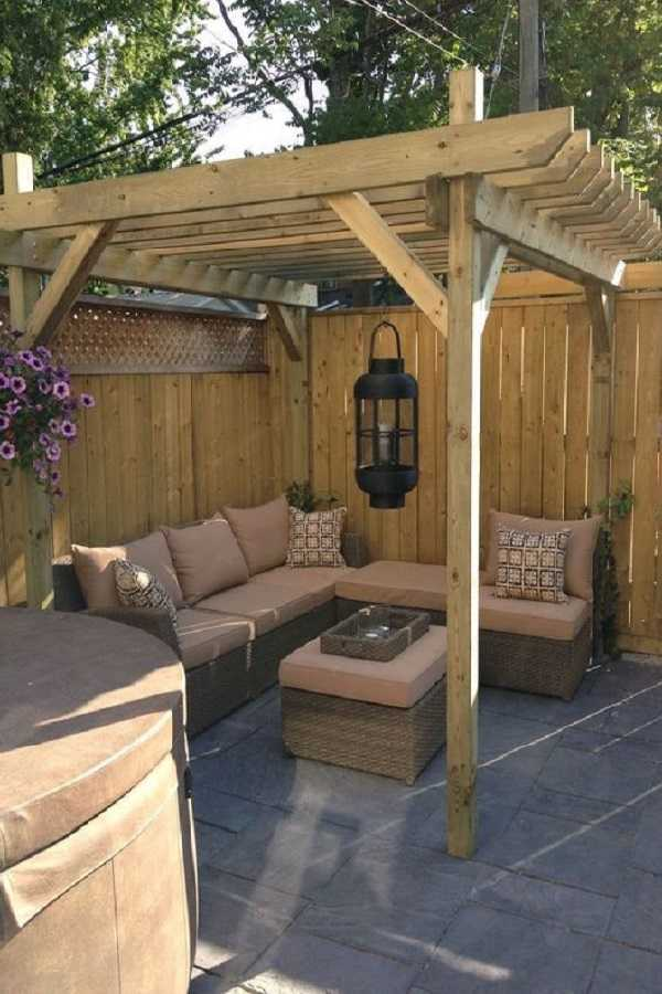 Pergola landscaping Design Ideas12