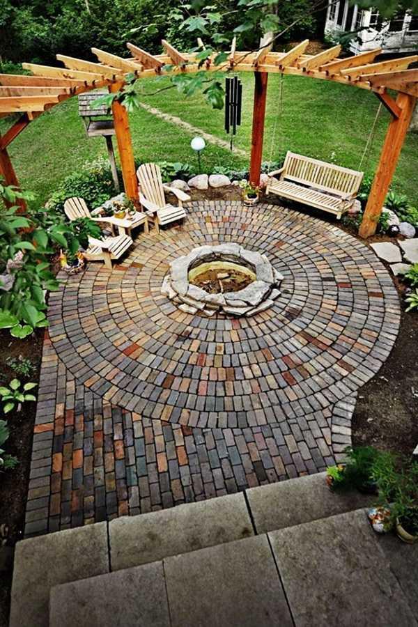 Pergola landscaping Design Ideas17