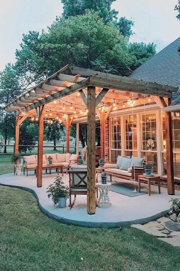 Pergola landscaping Design Ideas19