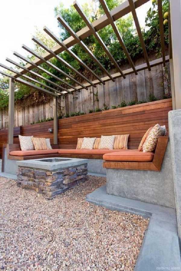 Pergola landscaping Design Ideas23