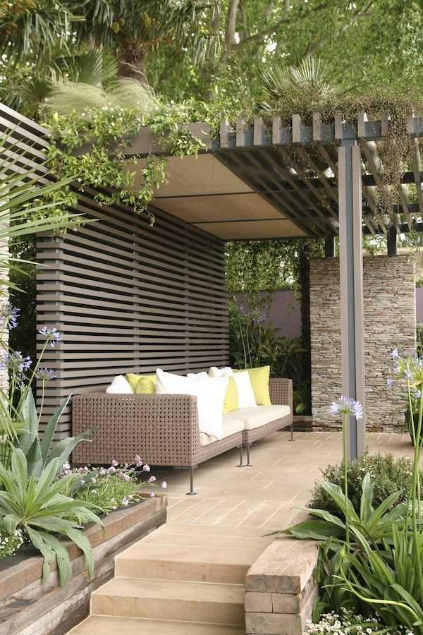 Pergola landscaping Design Ideas3