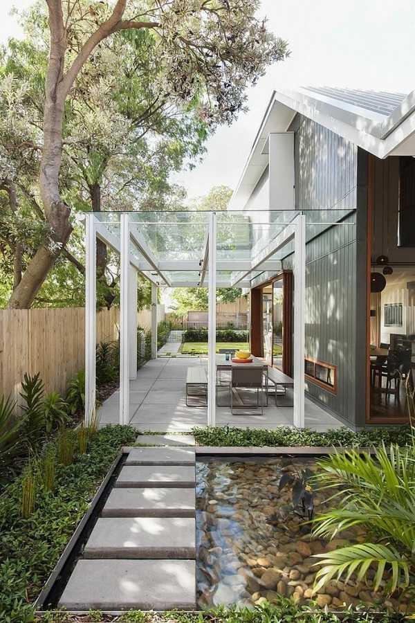 Pergola landscaping Design Ideas8