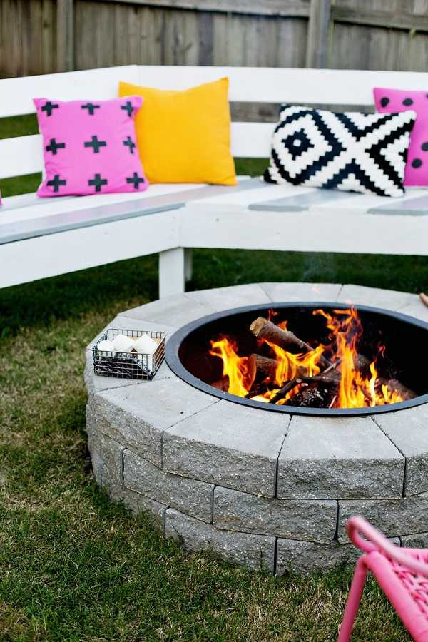 cheap Fire Pit Ideas10