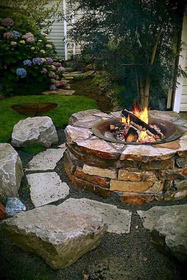 cheap Fire Pit Ideas11