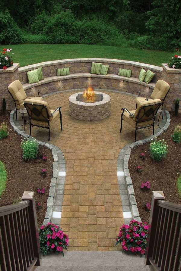 cheap Fire Pit Ideas15