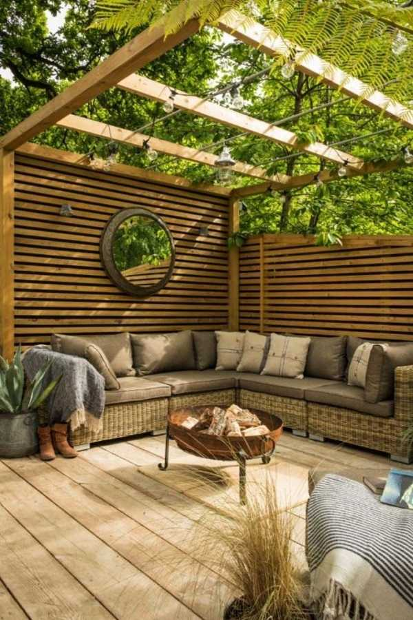 outdoor room Pergola Design Ideas1