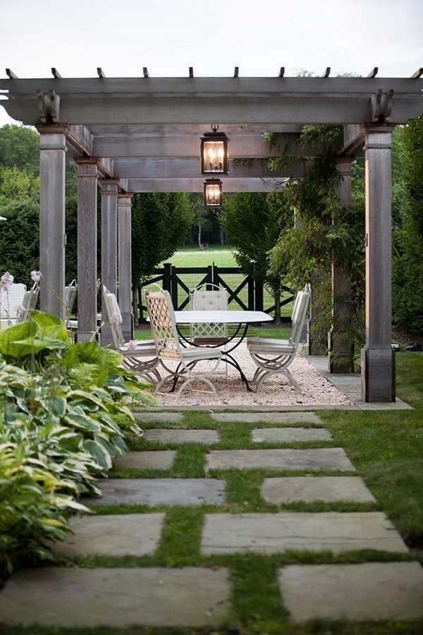 outdoor room Pergola Design Ideas10