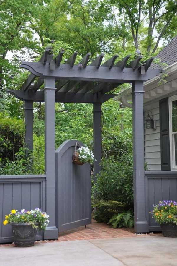 outdoor room Pergola Design Ideas17