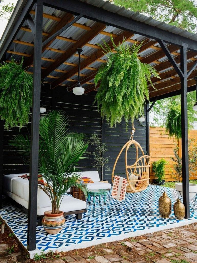 30 Wonderful Outdoor Room Backyard Pergola Design Ideas