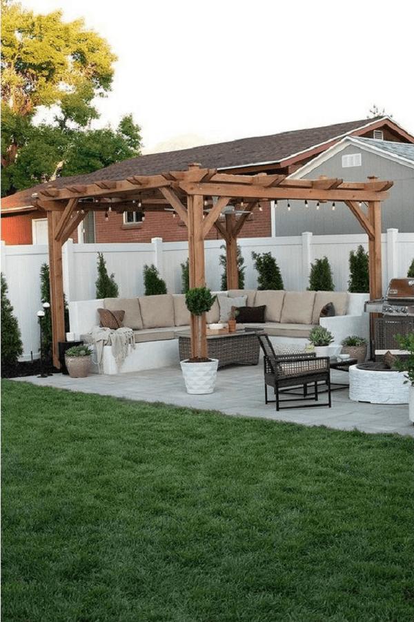 outdoor room Pergola Design Ideas5