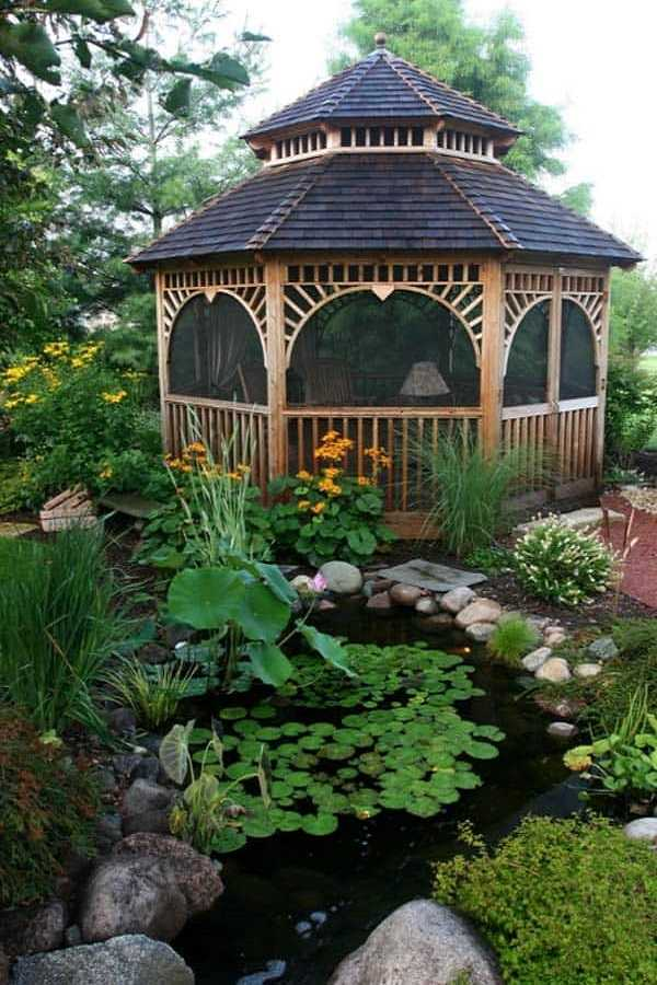 rain garden design ideas28