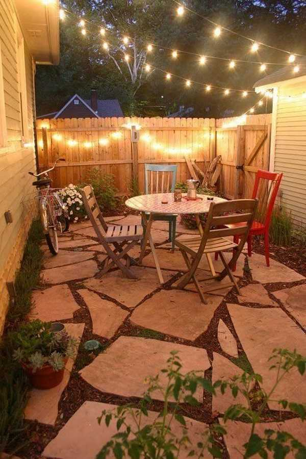 30 Beautiful Small Patio Design Ideas on Small Outdoor Covered Patio Ideas id=98404