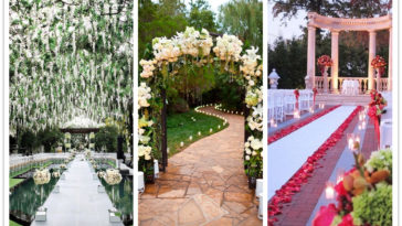 wedding walkway ideas