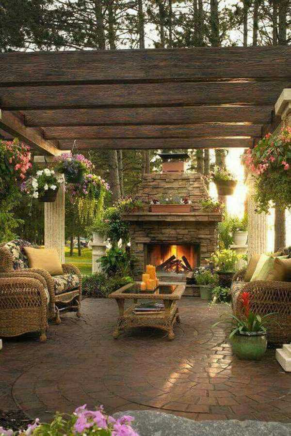 covered Patio Design Ideas24