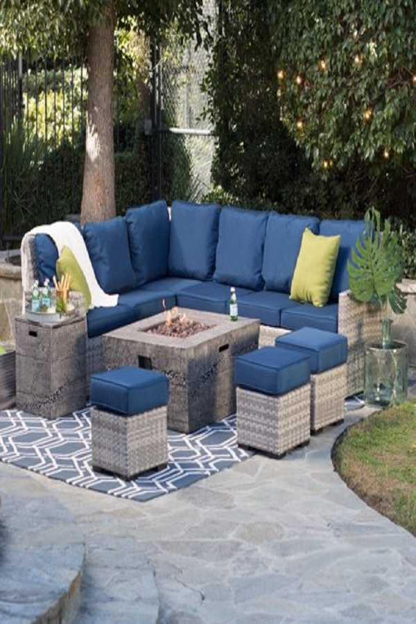 square Fire Pit Ideas14