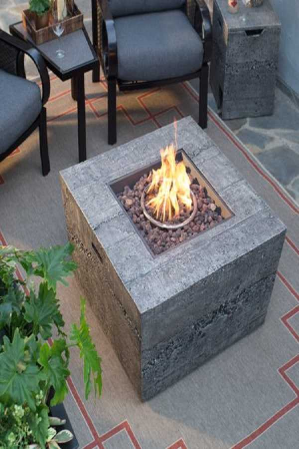 square Fire Pit Ideas15