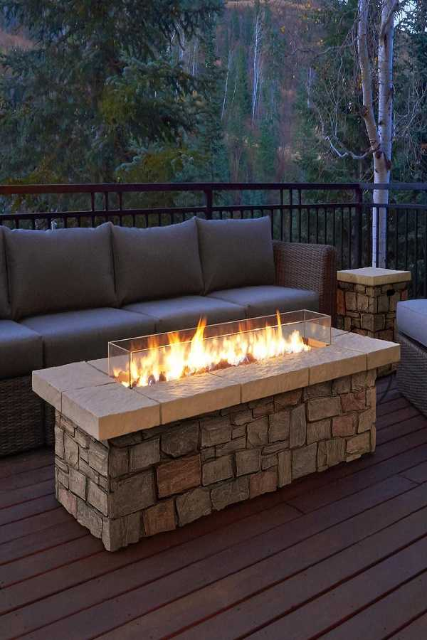 square Fire Pit Ideas16