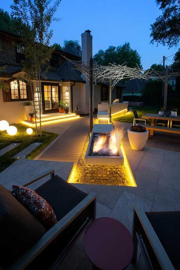 square Fire Pit Ideas2
