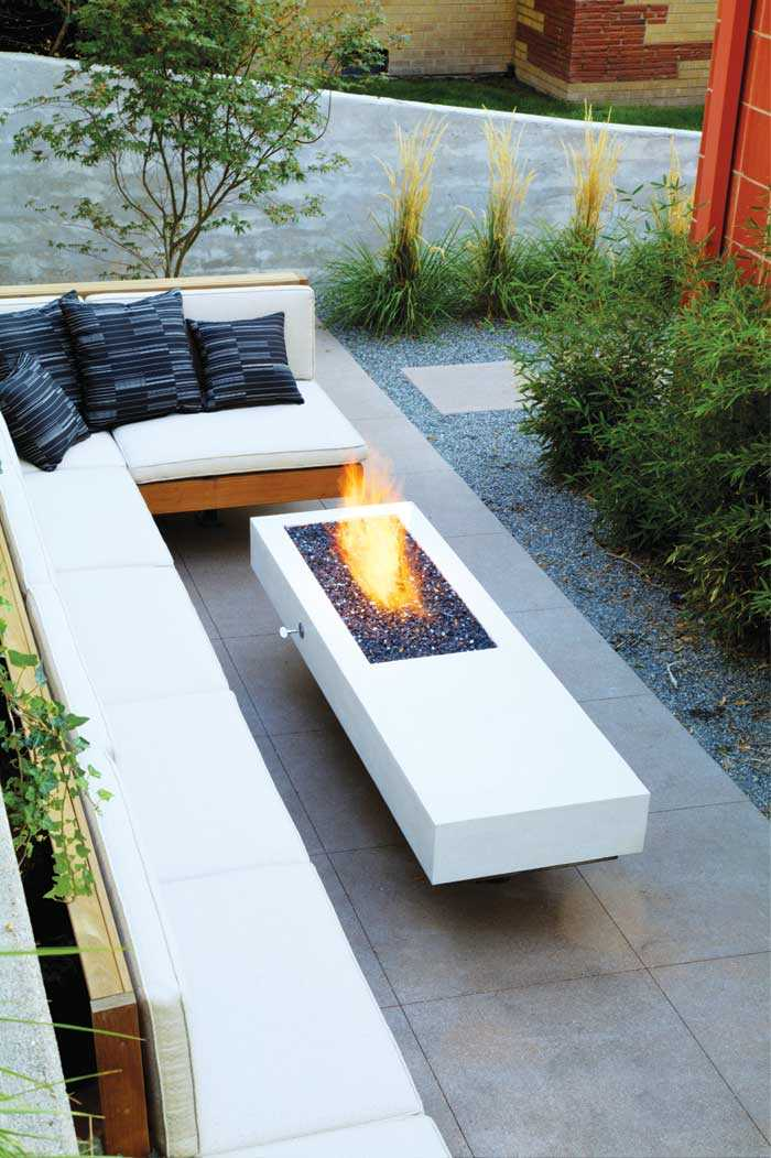 square Fire Pit Ideas20