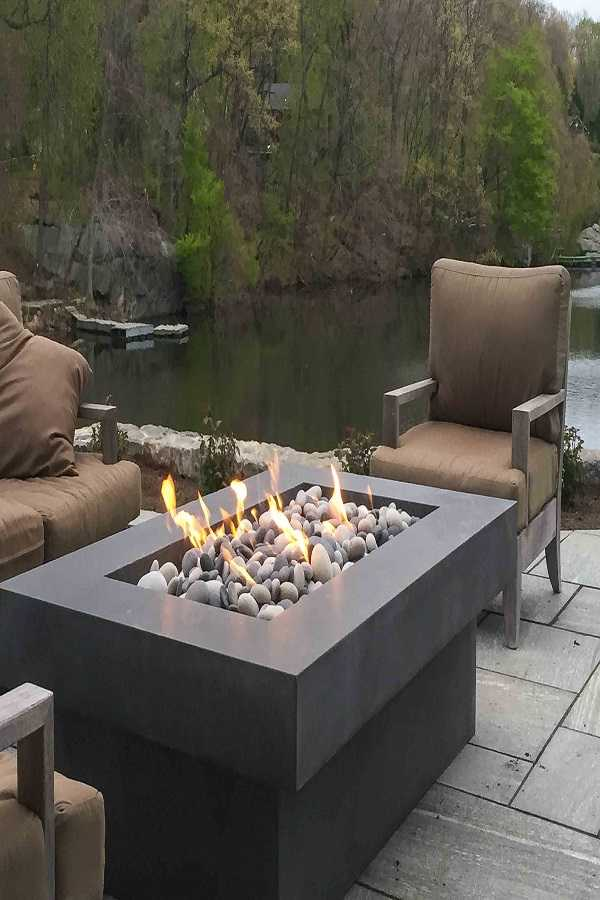 square Fire Pit Ideas22