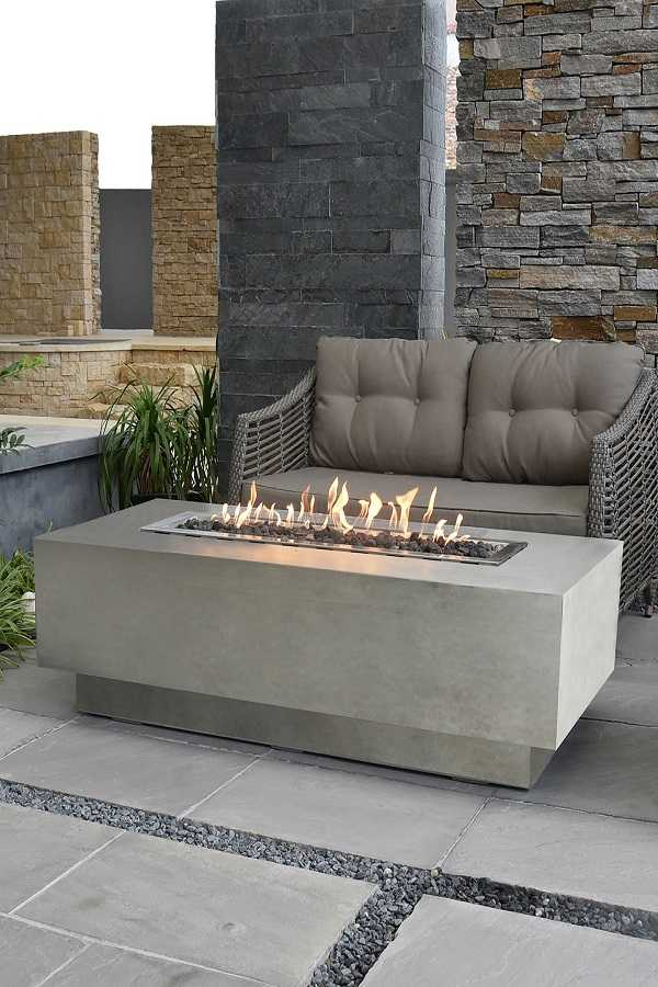 square Fire Pit Ideas24