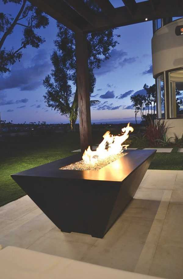 square Fire Pit Ideas28