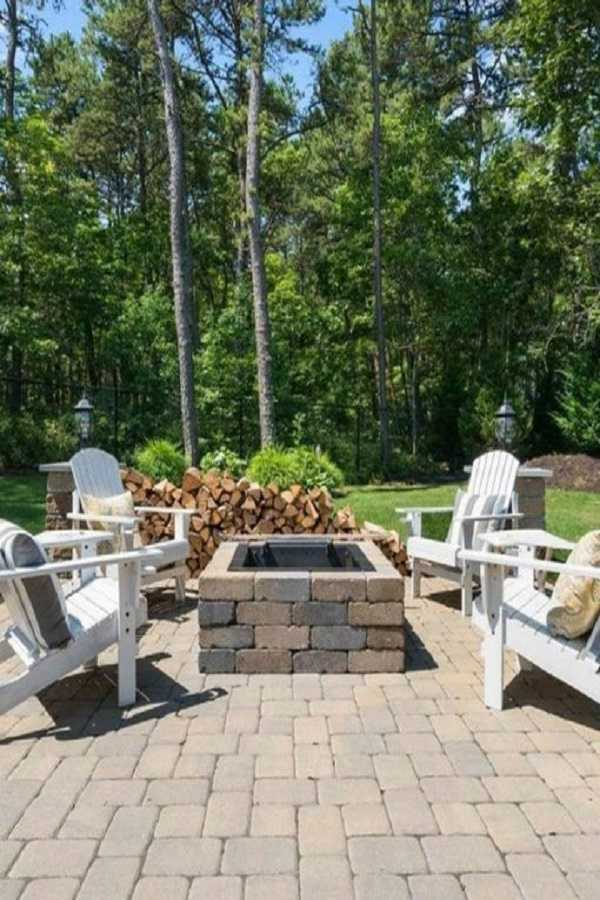 square Fire Pit Ideas5